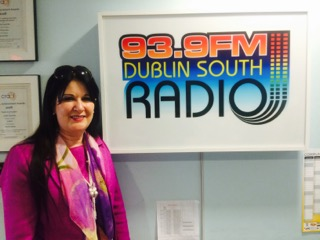 Tina speaks on radio Dublin